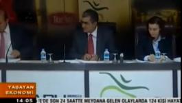 Pankobirlik Genel Başkanı Recep Konuk Ülke Tv Yaşayan Ekonomi Programına Katıldı