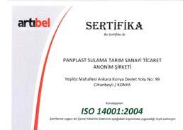 Panplast ISO 14001:2004