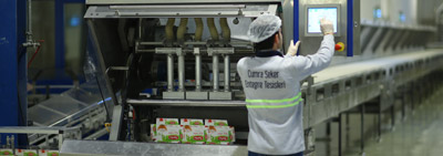 Cube Sugar and Crystal packaged Sugar Plant Began Production