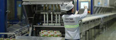 Küp ve Paketli Şeker Tesisi Üretime Başladı