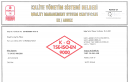 TSE-ISO-EN 9000 CERTIFICATION-2