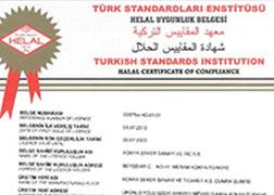 Konya Seker Halal Food Compliance Certificate - Chocolate, Cocolin