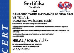 NO ON HELAL SERTİFİKASI