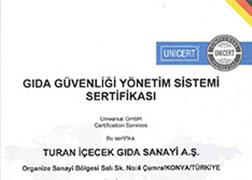 ISO 22000 - Gıda Güvenliği Yönetim Sistemleri Sertifikası