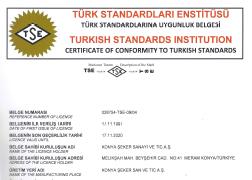 TSE 861 BELGESİ
