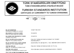 TSE Certificate of Conformity