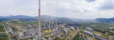 Soma Termik Santralinde Çevre ile İlgili Yatırımlar Kapsamında Baca Gazı Desülfirizasyon Yatırımı