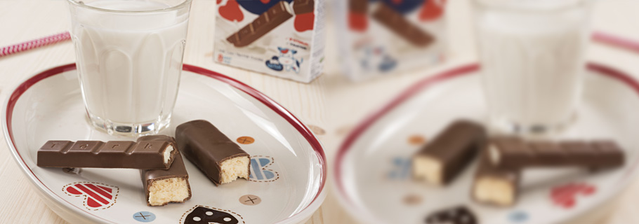 مينيكي مغطاة بالشوكولاته