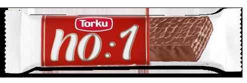 torku no 1 milk chocolate coated wafer with hazelnut cream
