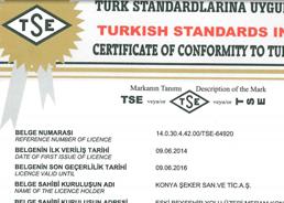 TSE - 12300 - Sütlü Tip Dolgulu Çeşit Kokolin