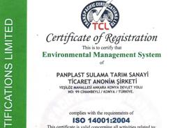 Panplast - ISO 14001