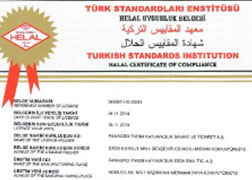 Panagro Halal Certificate Meat