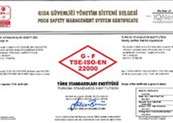 Panagro ISO 22000 Gıda Güvenliği Yönetim Sistemi Kapsam Genişletme