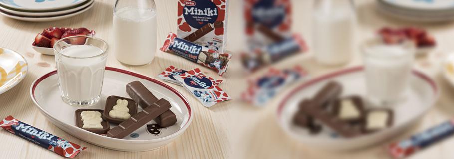 Miniki Çikolata ve Çikolata Kaplamalılar