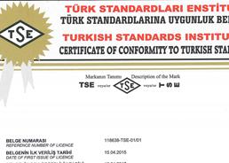 TS - 12302 - Ham Ayçiçek Yağı Ürün Uygunluk Belgesi 2016