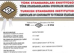 TSE 861 CERTIFICATE