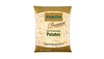 Torku Pratiko Yemeklik Küp Patates 10x10 (5x2500 gr)