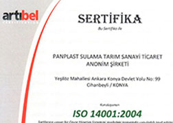 Environment License Certificate