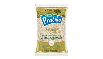 Pratiko Premium Kaplamalı İnce Kesim Patates 7x7 (5x2500 gr)