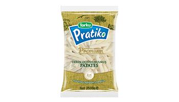 Torku Pratiko Premium Kabuklu Klasik Kesim Patates 9x9 (5x2500 gr)