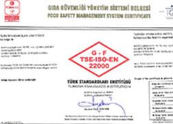 ISO 22000 - Gıda Güvenliği Yönetim Sistemi Sertifikası