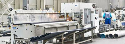 PVC ve Korige Boru Üretim Tesisi Faaliyete Başladı