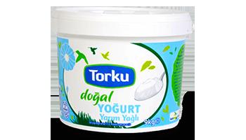 Torku Kaymaksız Doğal Yoğurt  (Yarım Yağlı) (9 Kg)