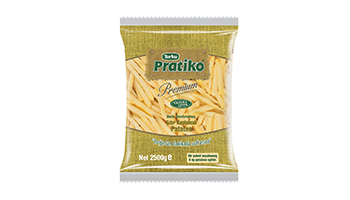 Torku Pratiko Premium Çıtır Kaplamalı Patates 9x9 (5x2500 gr)