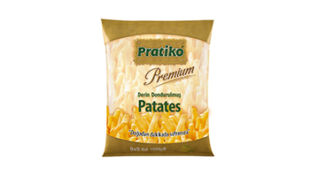 Torku Pratiko Premium Parmak Patates 9x9 (10x1000 gr)