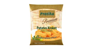 Torku Pratiko Premium Silindir Kroket (5x2500 gr)
