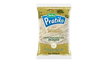 Torku Pratiko Premium Kabuklu Patates 11x11 (5x2500 gr)