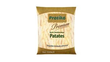 Torku Pratiko Premium Parmak Patates 11x11 (5x2500 gr)