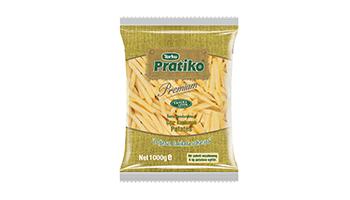 Torku Pratiko Premium Çıtır Kaplamalı Patates 9x9 (10x1000 gr)