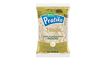 Torku Pratiko Premium İnce Kesim Patates 7x7 (5x2500 gr)
