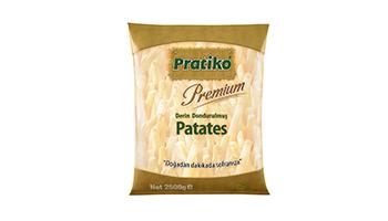 Torku Pratiko Premium Parmak Patates 7x7 (5x2500 gr)
