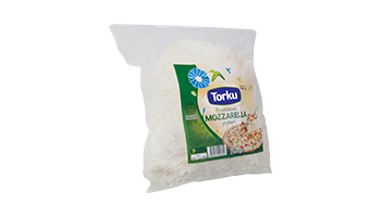 Torku Grated Mozzarella Cheese (4x2.5 kg)