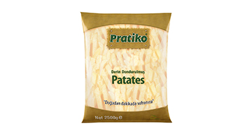 Torku Pratiko Parmak Patates 11x11 (5x2500 gr)
